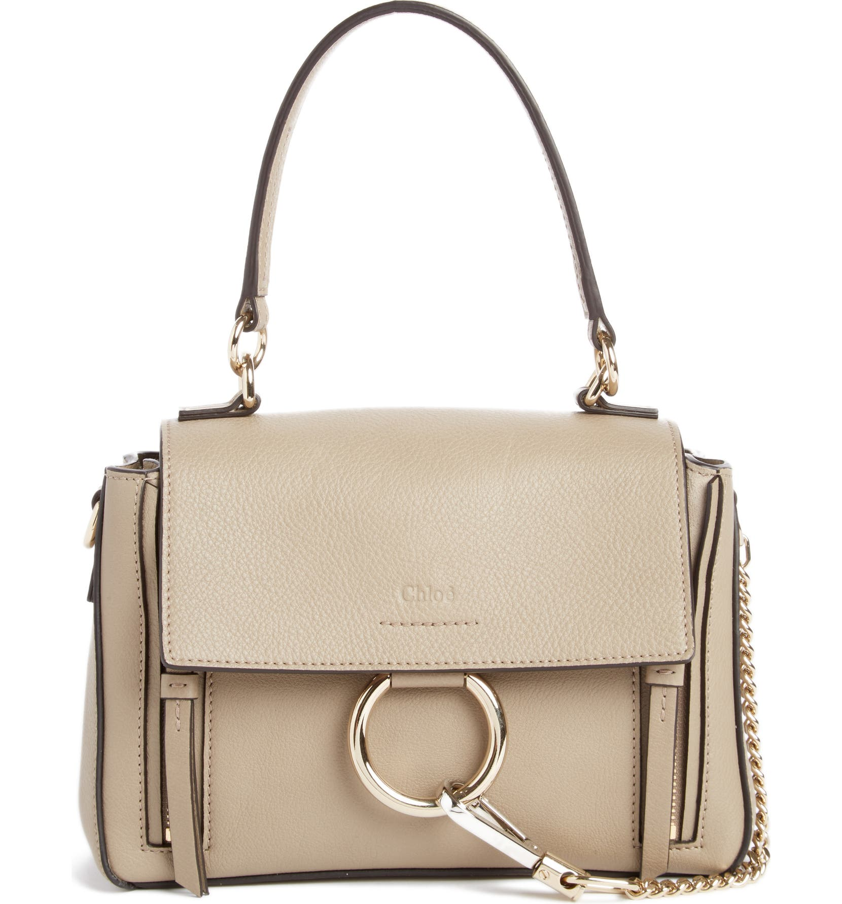 0ab078c1bfe Chloé Mini Faye Day Leather Crossbody Bag | Nordstrom