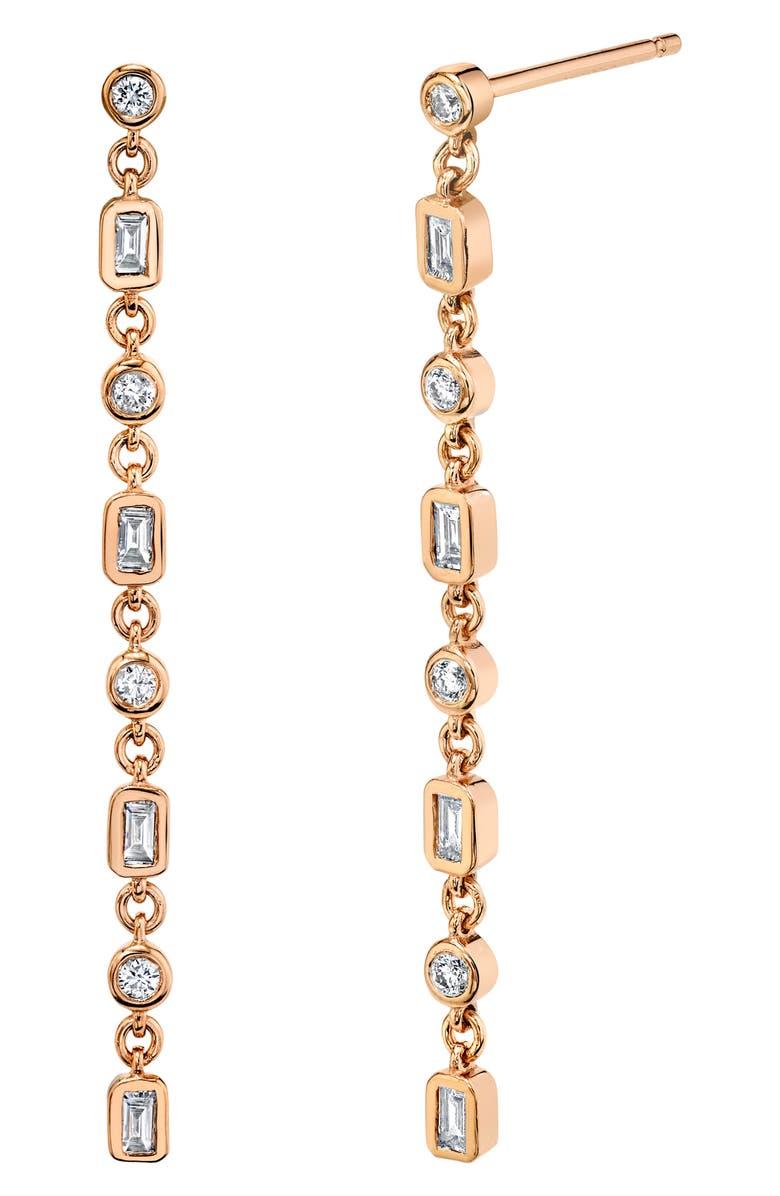 SHAY Infinity Diamond Drop Earrings, Main, color, 650
