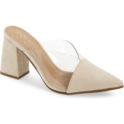Coconuts By Matisse Shauna Translucent Mule, Beige