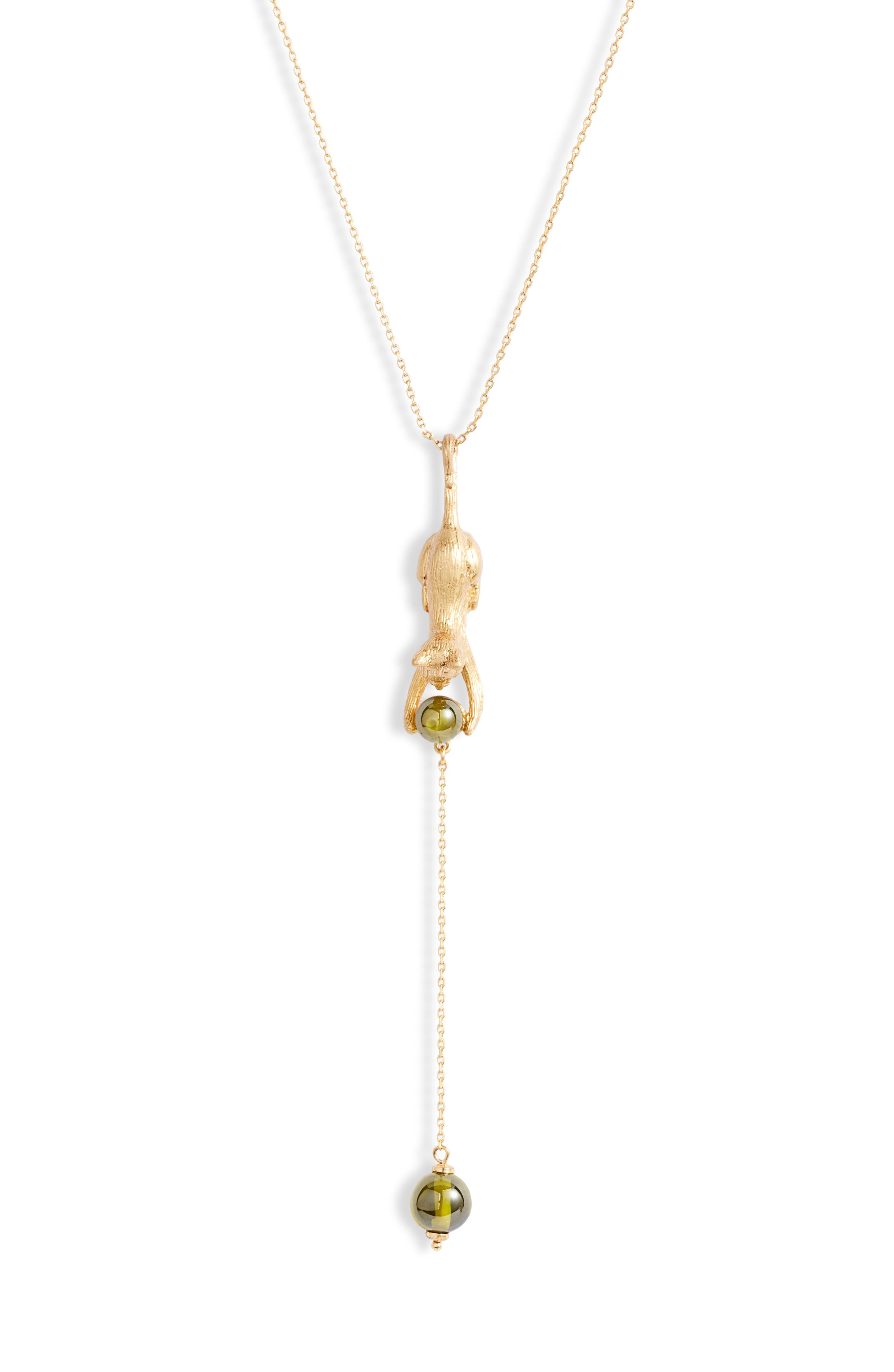Kate Spade New York Jewelry house cat Y-necklace