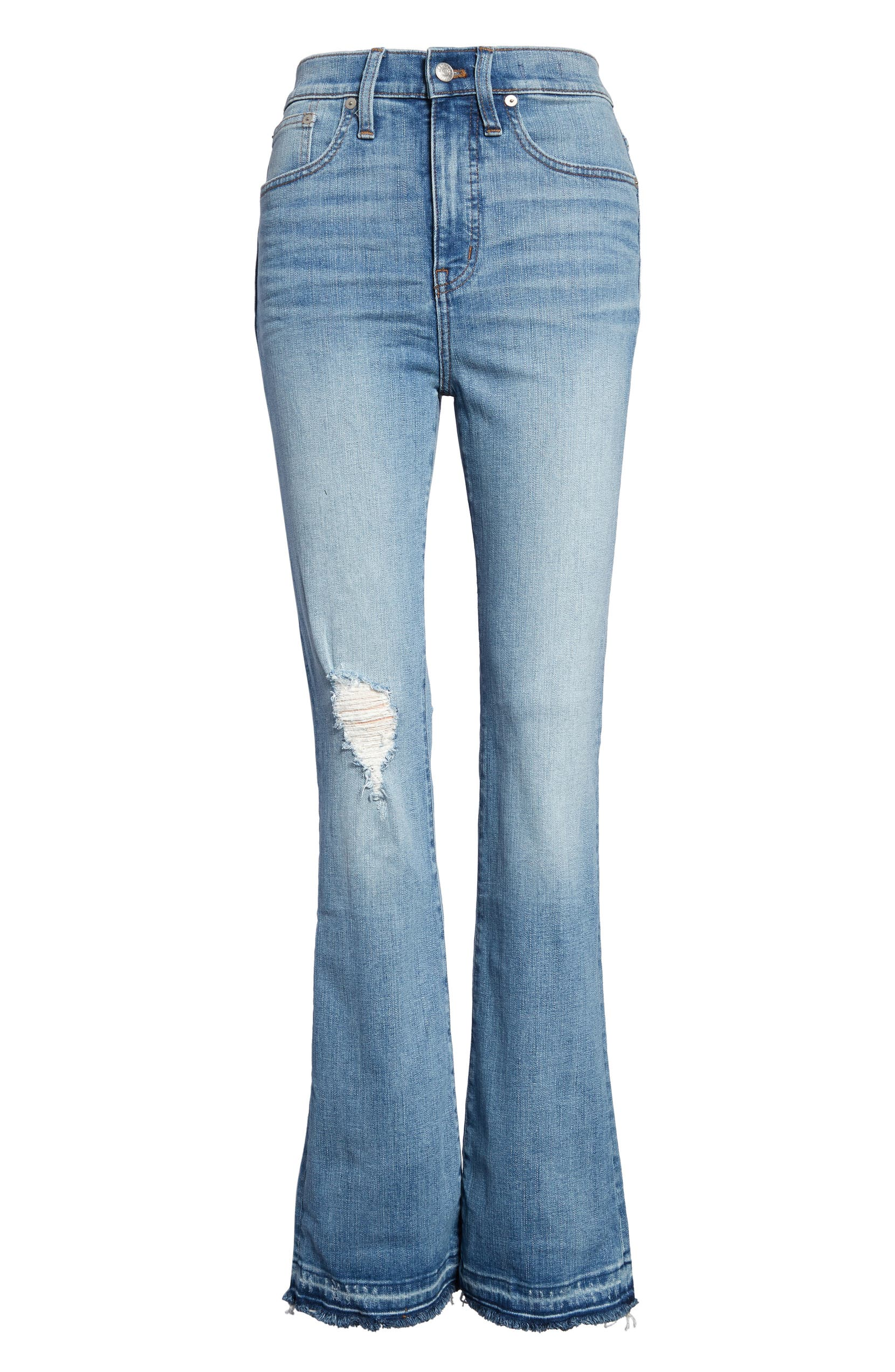 53aaa750c1 High Waist Skinny Flare Jeans