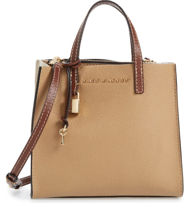 edb5a738989 MARC JACOBS The Grind Mini Colorblock Leather Tote   Nordstrom