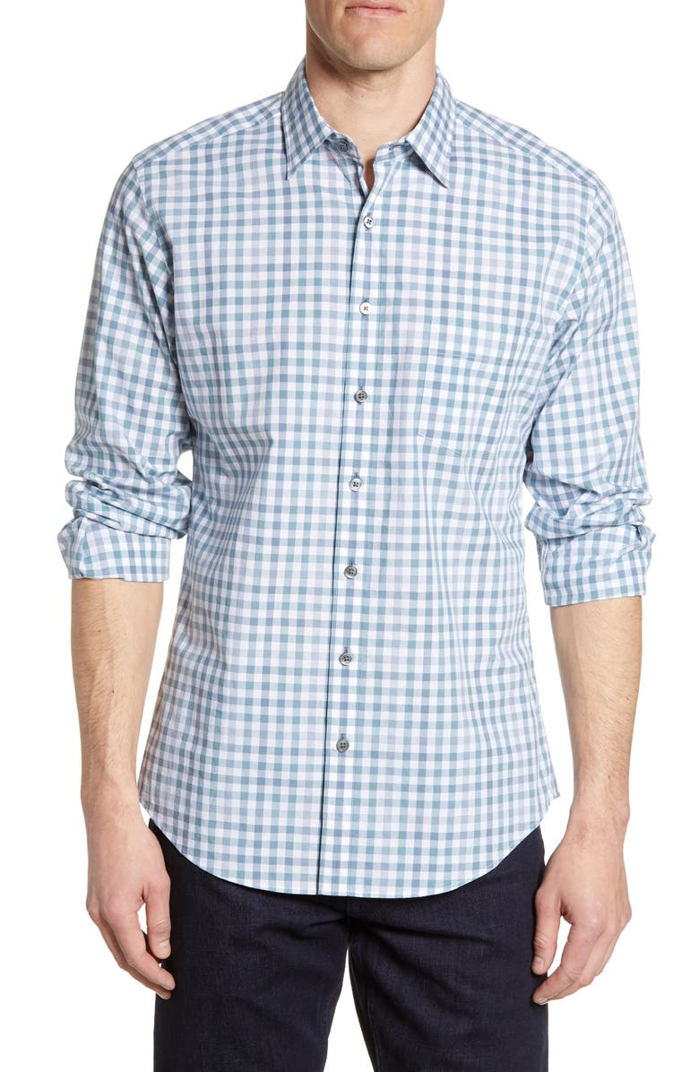 RODD & GUNN Valley Heights Regular Fit Plaid Button-Up Shirt, Main, color, 111