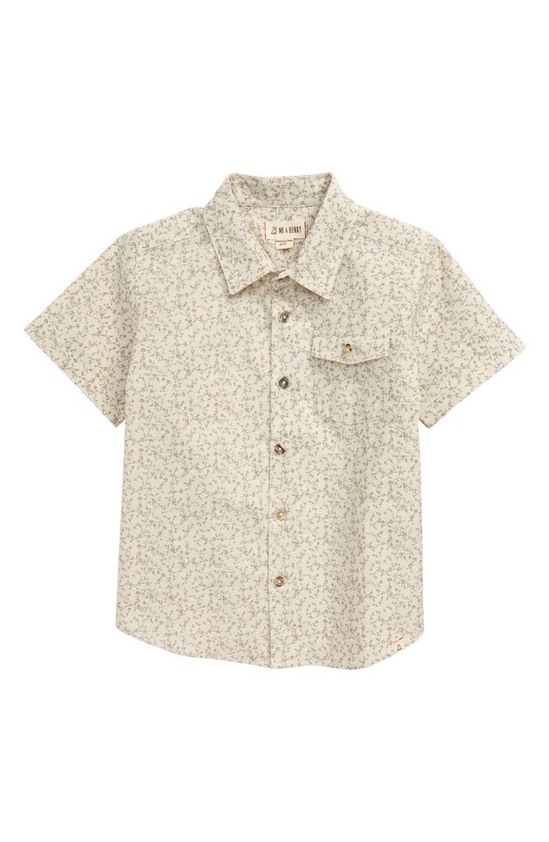 ME & HENRY Floral Button-Up Shirt, Main, color, 020