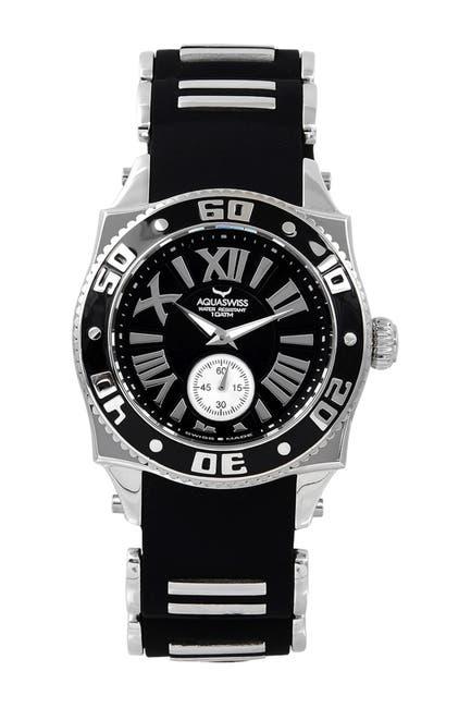 Image of Aquaswiss Unisex Swissport G Sporty Silicone Strap Watch, 56mm