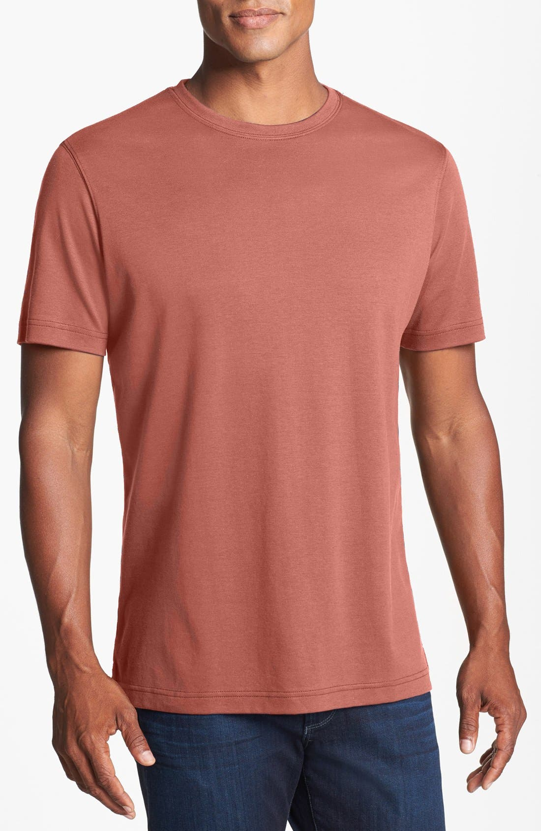 ,                             Georgia Crewneck T-Shirt,                             Main thumbnail 508, color,                             956
