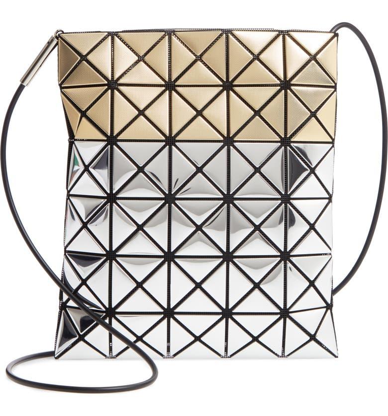 BAO BAO ISSEY MIYAKE Platinum Stardust Crossbody Bag, Main, color, SILVER/ GOLD