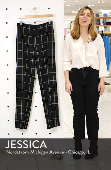 Hilani Windowpane Trousers, sales video thumbnail