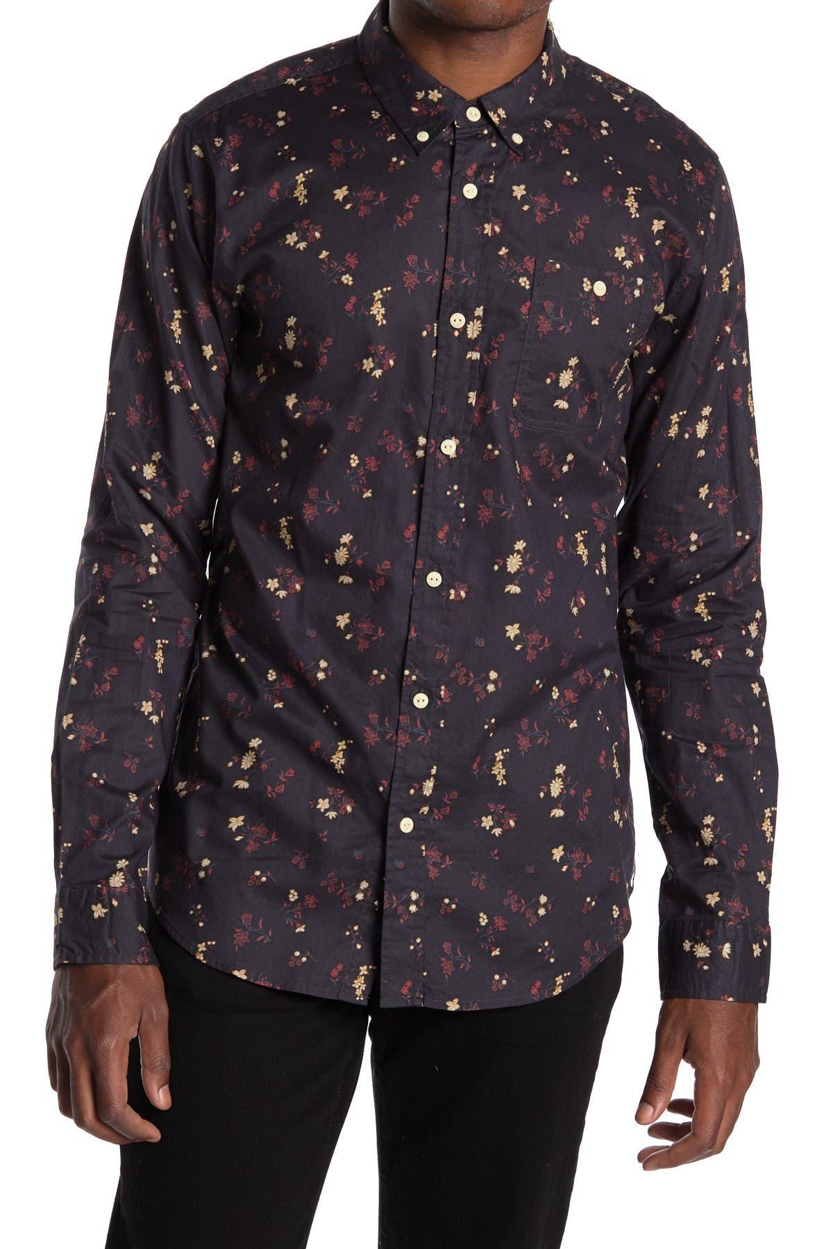 Image of Ezekiel Tahquitz Long Sleeve Woven Shirt