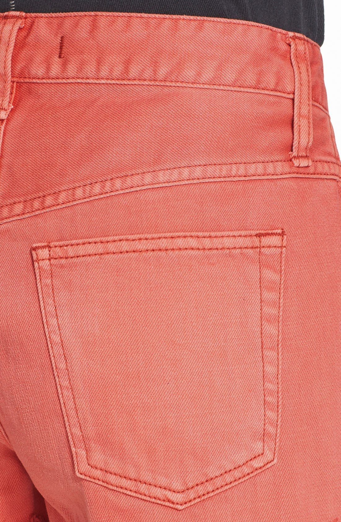 ,                             'Uptown' Denim Shorts,                             Alternate thumbnail 31, color,                             955