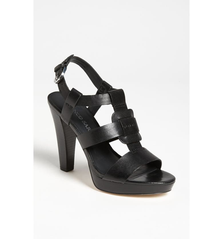 FRANCO SARTO 'Betsy' Sandal, Main, color, 001