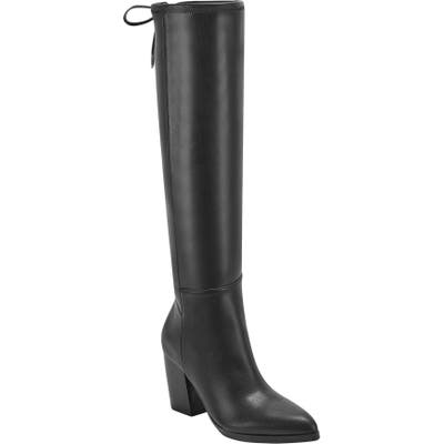 Marc Fisher Ltd Ablina Knee High Boot, Black