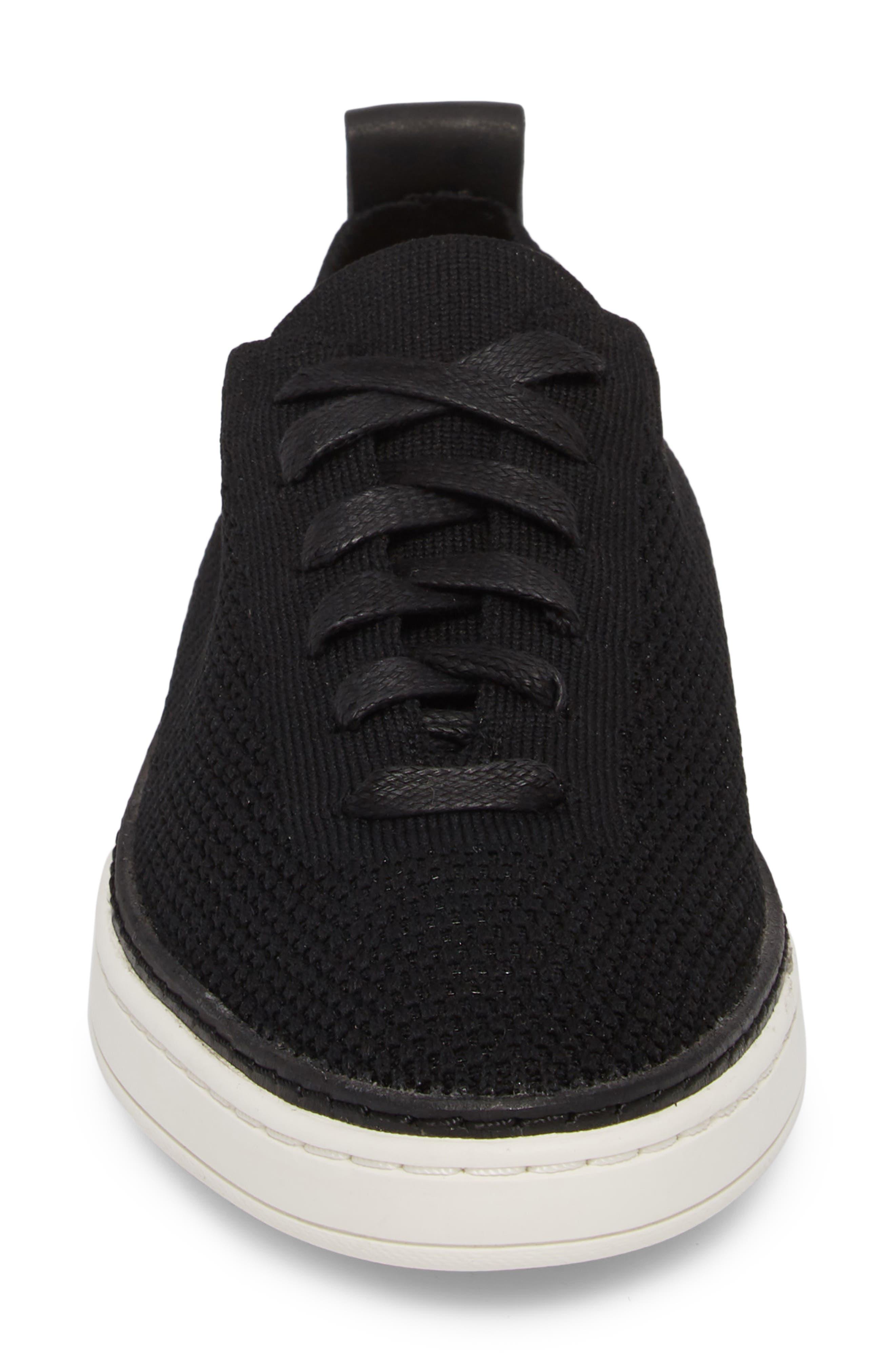,                             Sidney Sneaker,                             Alternate thumbnail 4, color,                             BLACK FABRIC