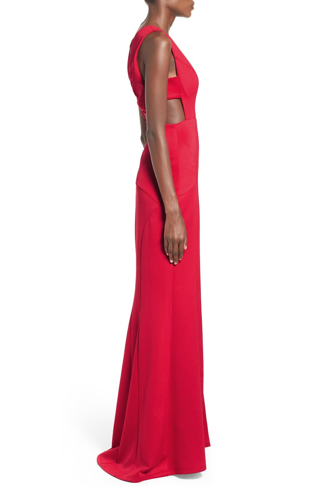 ,                             Side Cutout Gown,                             Alternate thumbnail 6, color,                             625