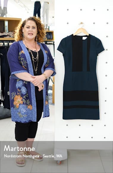 Dermely Structured Jersey Dress, sales video thumbnail