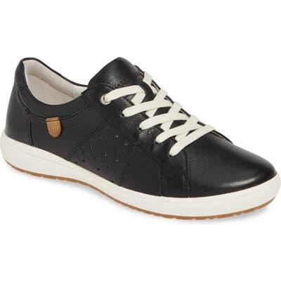 Josef Seibel Caren 01 Sneaker, Black