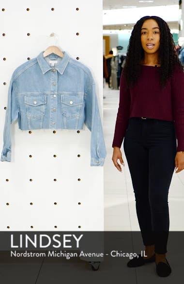 Crop Denim Jacket, sales video thumbnail
