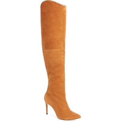 Schutz Anamaria Over The Knee Boot, Brown