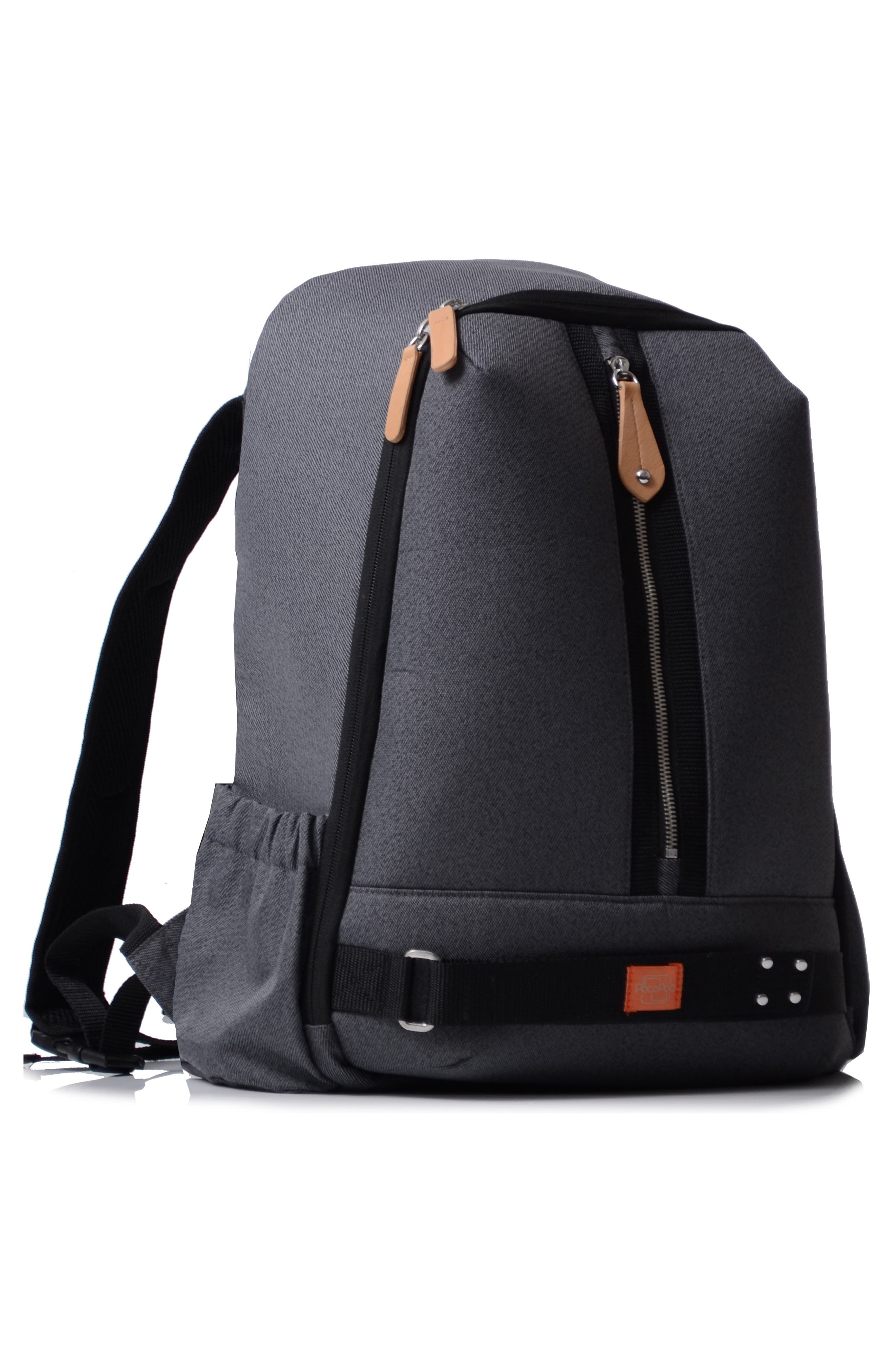 ,                             Picos Pack Diaper Backpack,                             Alternate thumbnail 3, color,                             BLACK CHARCOAL