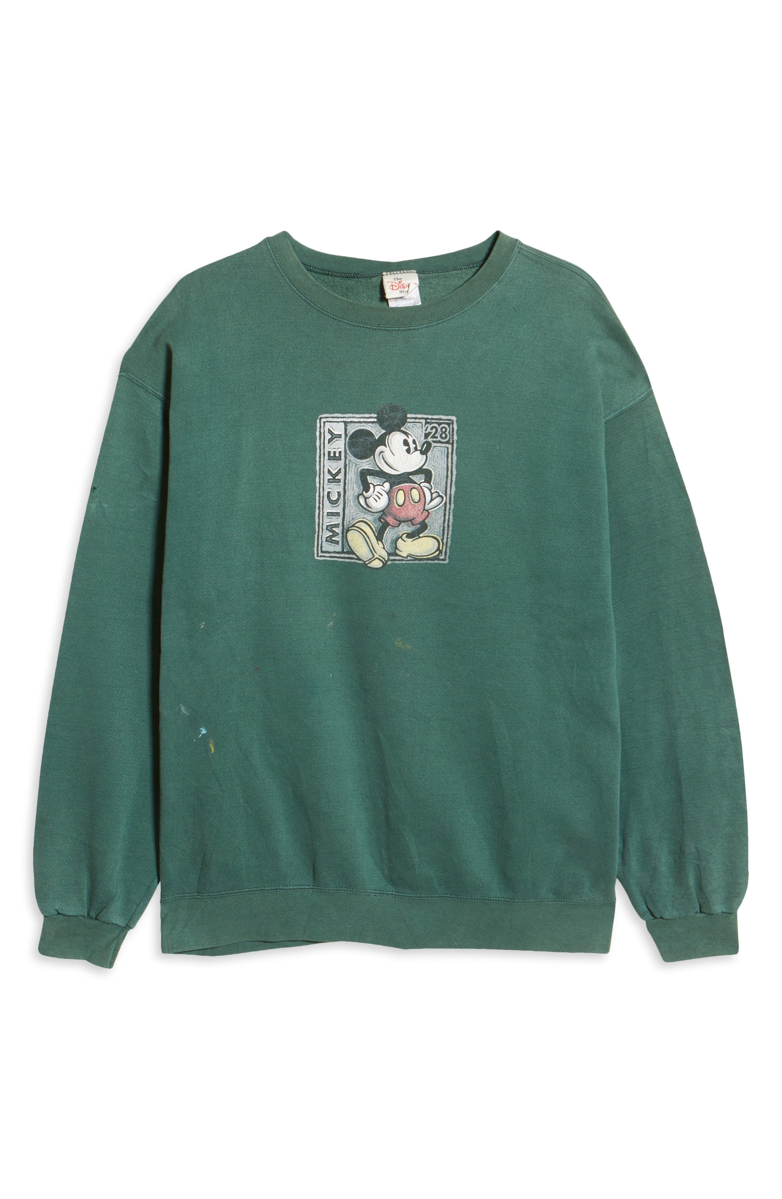 Unisex Secondhand Mickey Since 1928 Graphic Sweatshirt