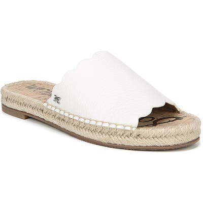 Sam Edelman Andy Slide Sandal, White