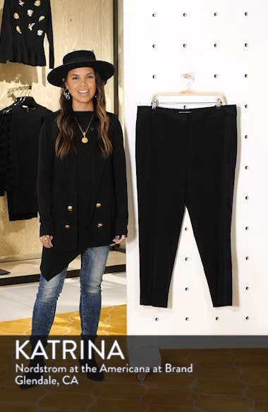 Straight Leg Ankle Pants, sales video thumbnail