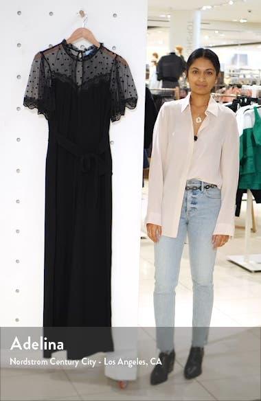 Dotted Lace Detail Jumpsuit, sales video thumbnail