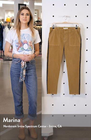 Jenna Corduroy Side Tape Crop Pants, sales video thumbnail