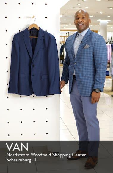 Nobis Slim Fit Wool Blazer, sales video thumbnail