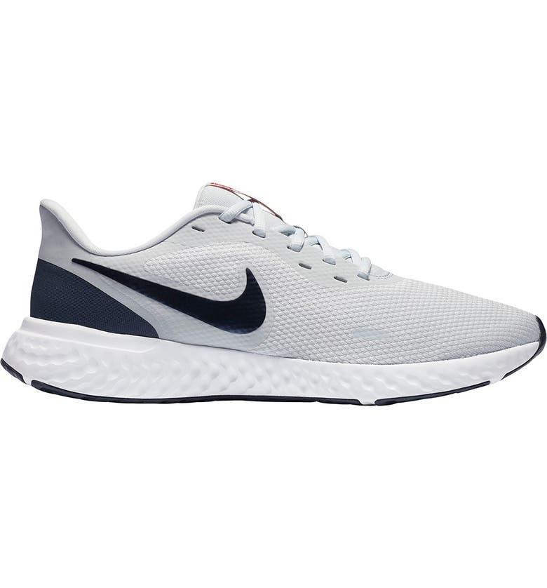 NIKE Revolution 5 Sneaker, Main, color, 018 PRPLTM/THUNBL
