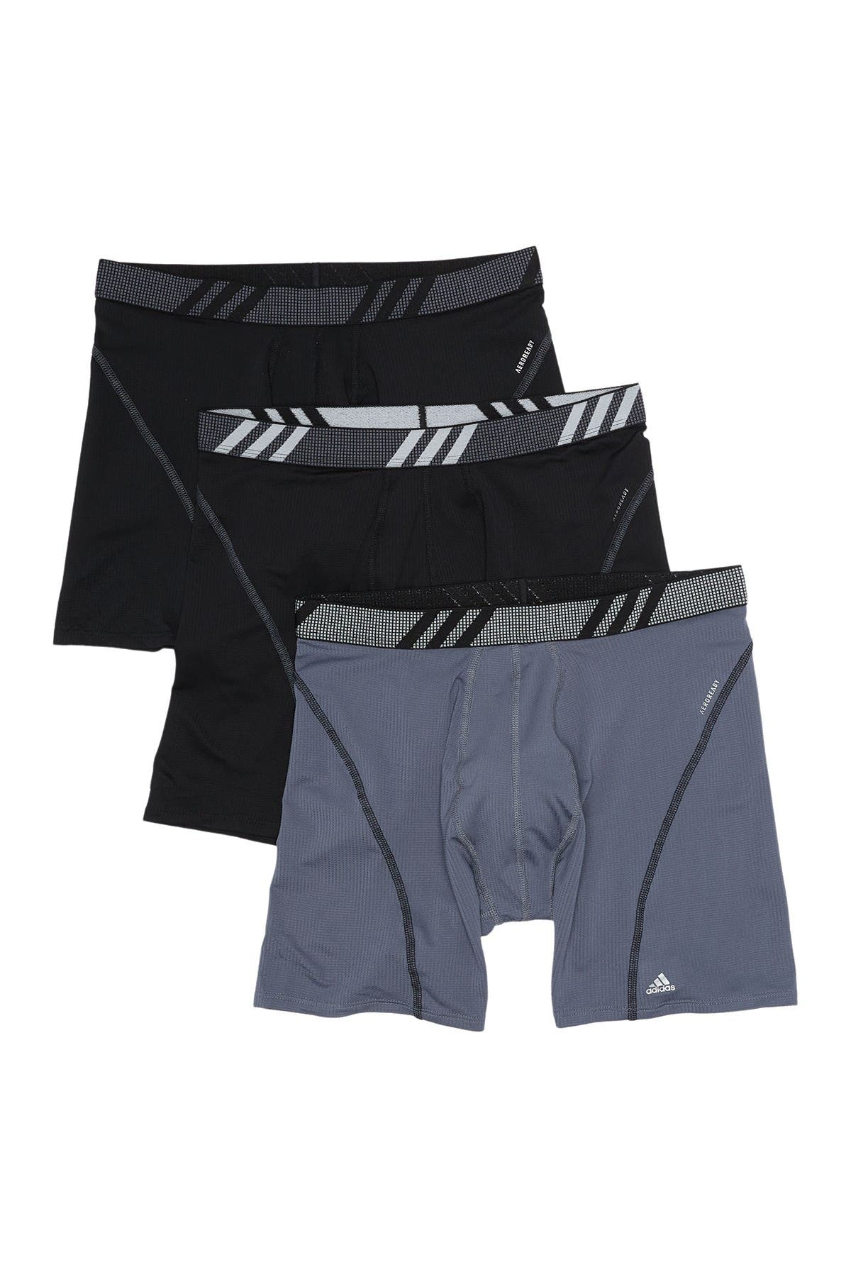 Image of adidas Sport Performance Mesh Boxers - Pack of 3