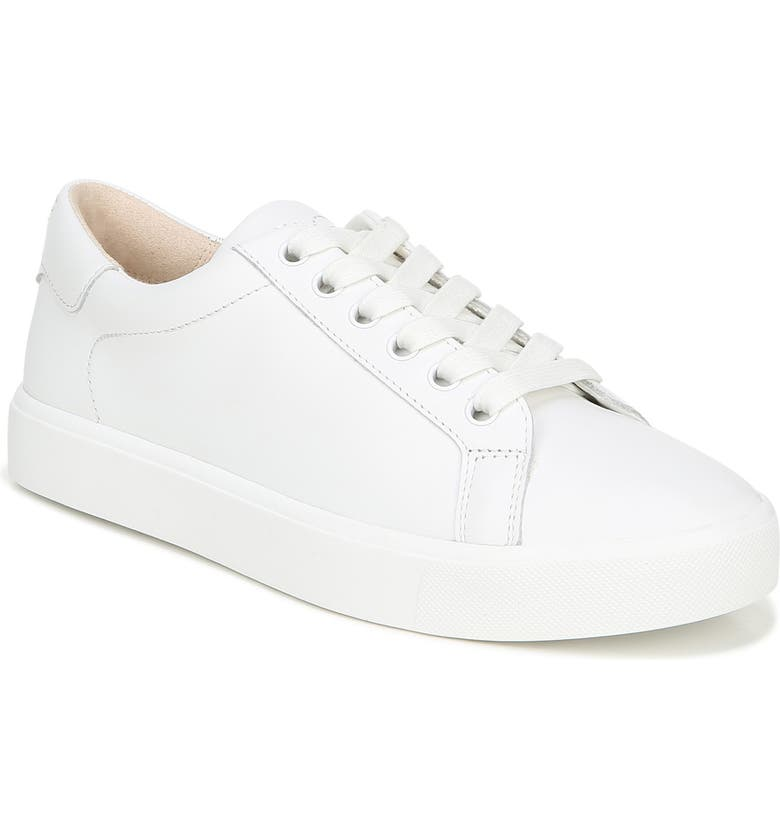 SAM EDELMAN Ethyl Low Top Sneaker, Main, color, BRIGHT WHITE LEATHER