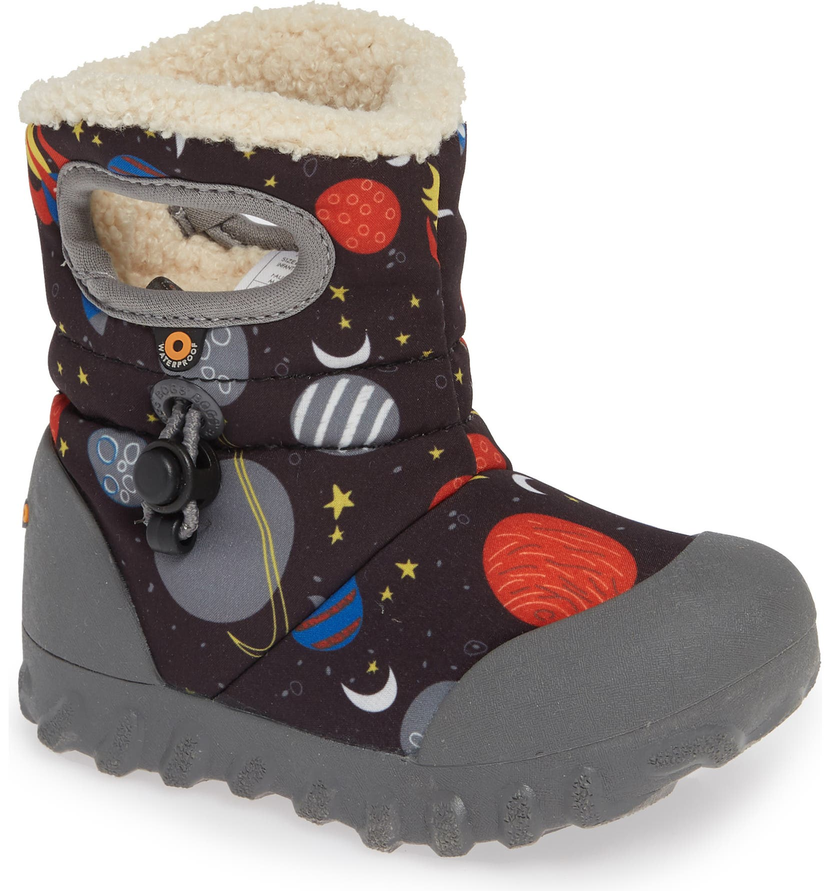 09ec402769 B-MOC Space Waterproof Insulated Faux Fur Boot