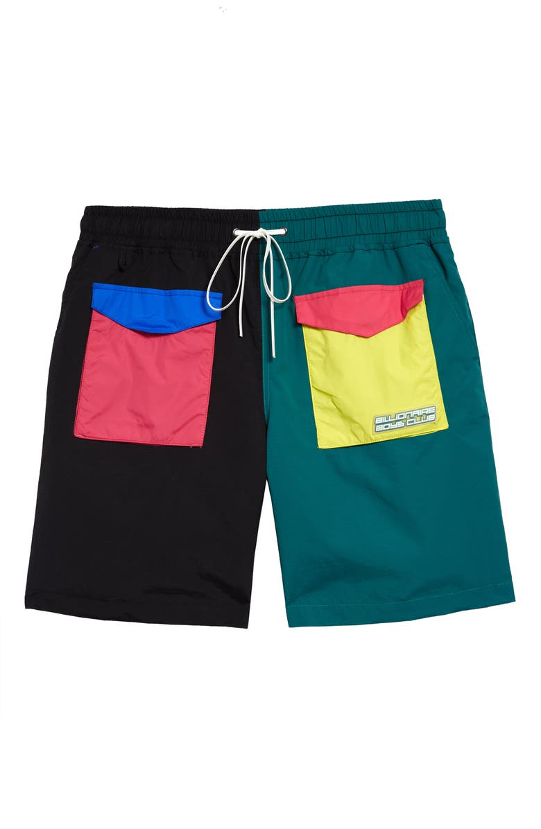 BILLIONAIRE BOYS CLUB Tidal Shorts, Main, color, BLACK
