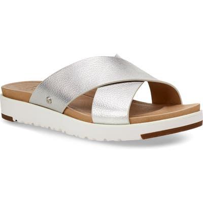 UGG Kari Slide Sandal, Metallic