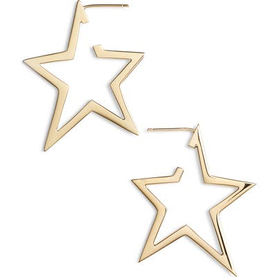 Jennifer Zeuner Sade Star Hoop Earrings