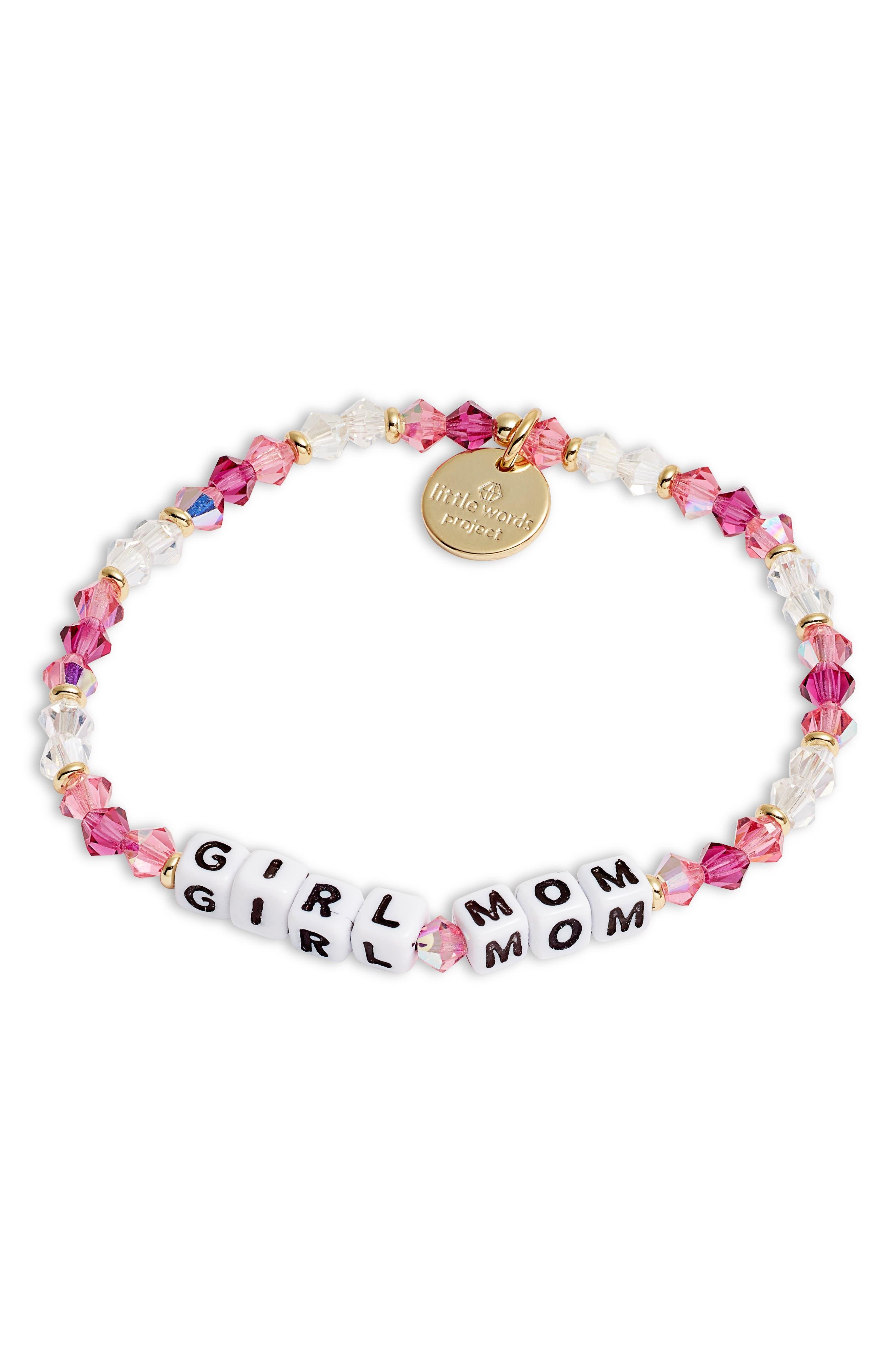 Girl Mom Stretch Bracelet