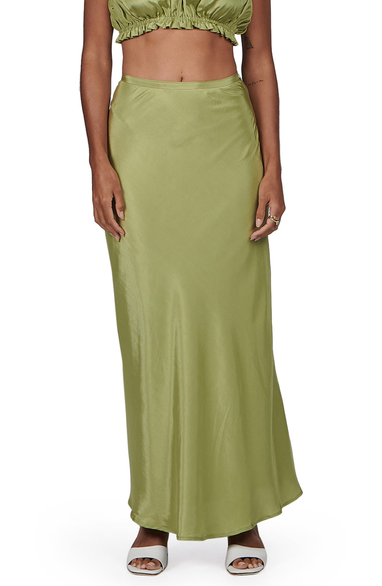 Margo Satin Skirt