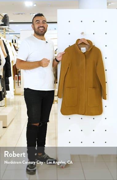 Estate Cocoon Coat, sales video thumbnail