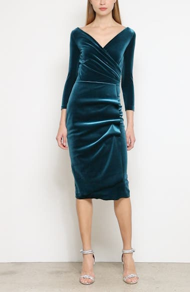 Florien Velvet Dress, video thumbnail