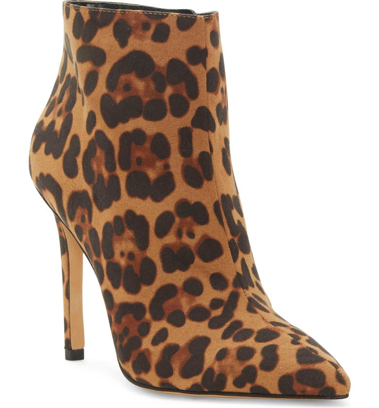 JESSICA SIMPSON Paytie Bootie, Main, color, NATURAL FABRIC