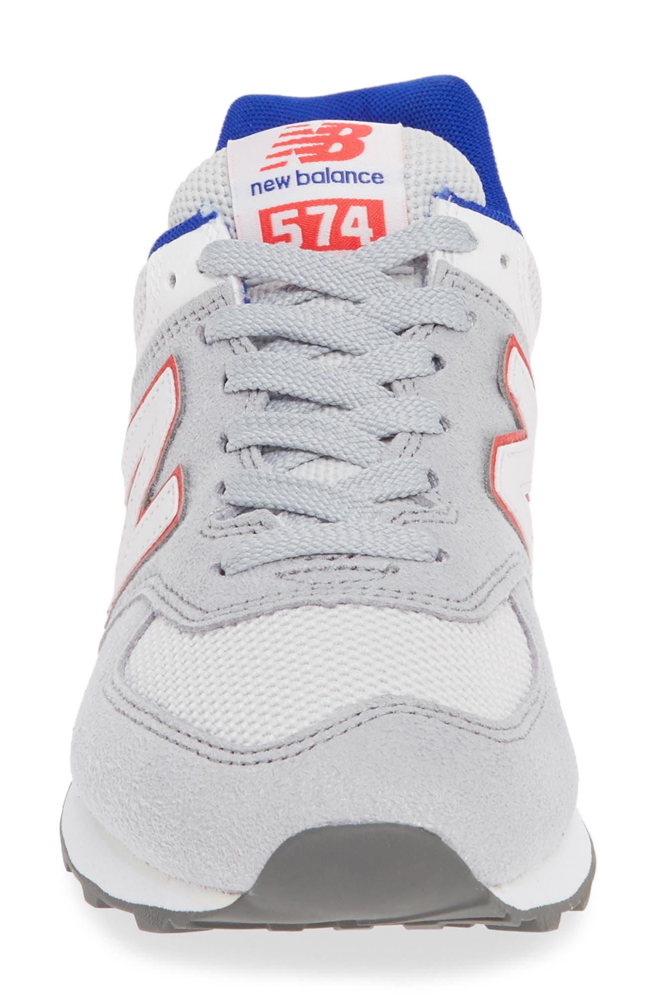 ,                             '574' Sneaker,                             Alternate thumbnail 4, color,                             RAIN CLOUD