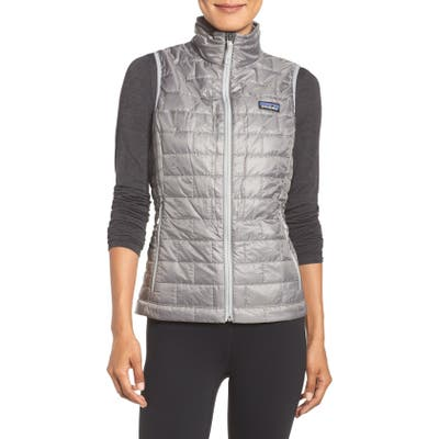 Patagonia Nano Puff Insulated Vest, Grey