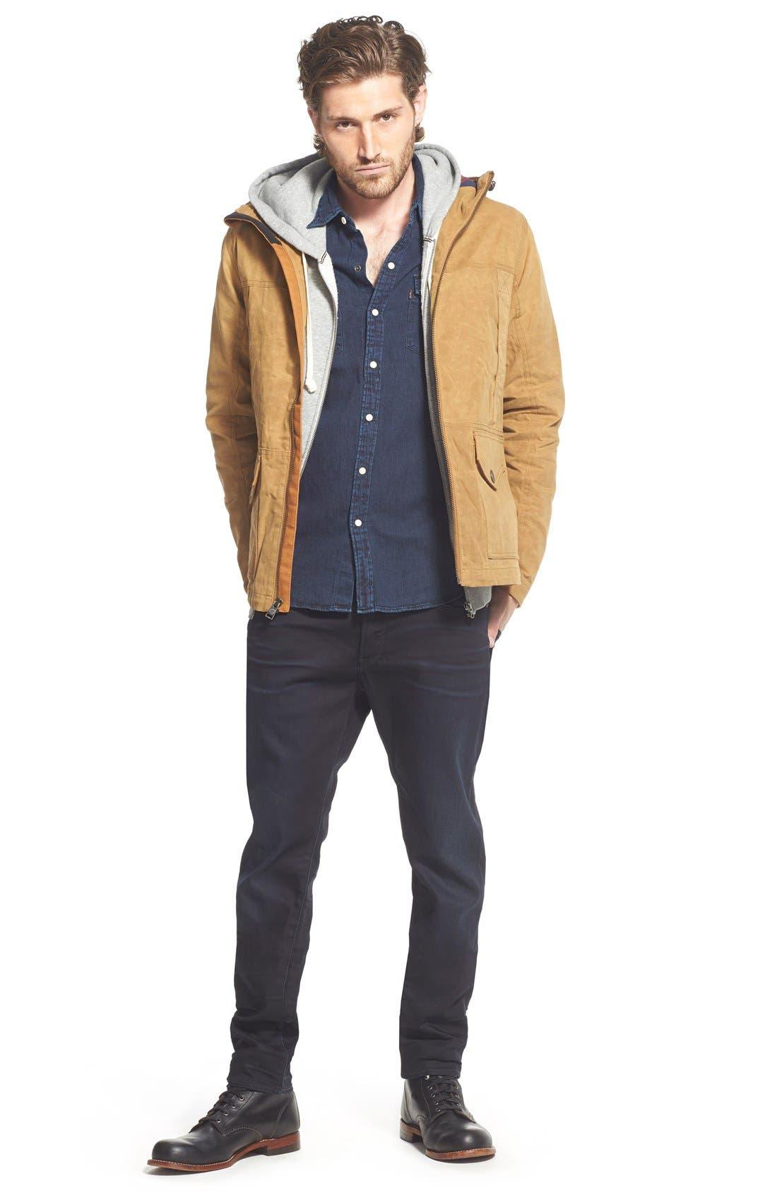 ,                             '3301 Slander' Slim Fit Jeans,                             Alternate thumbnail 6, color,                             404