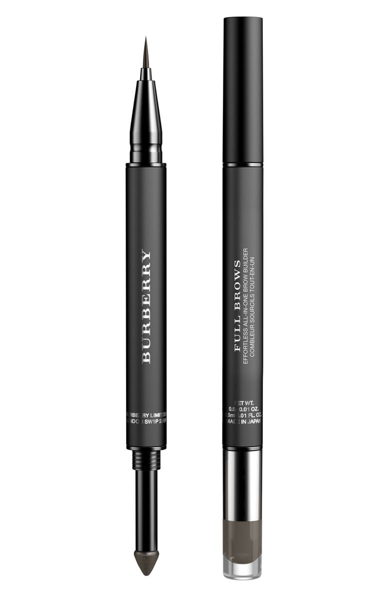 BURBERRY Beauty Full Brows Effortless All-in-One Brow Builder, Main, color, NO. 05 EBONY