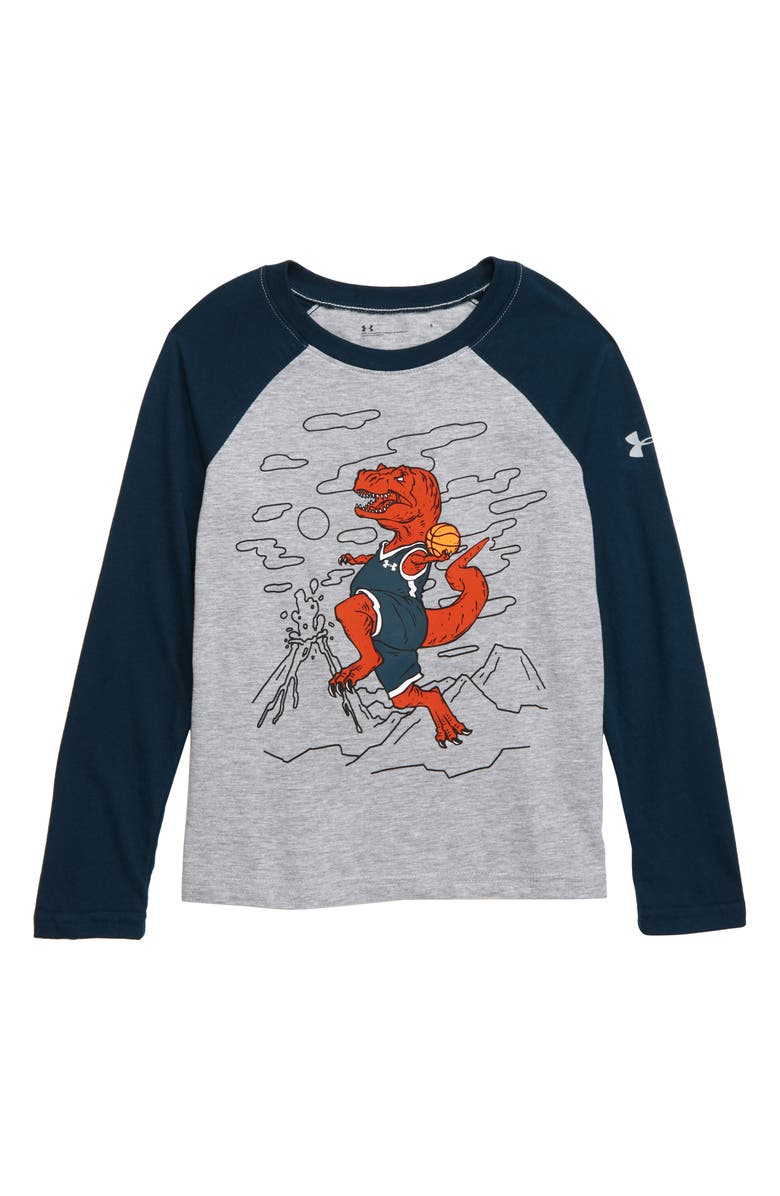 UNDER ARMOUR T. Rex Raglan Shirt, Main, color, 050