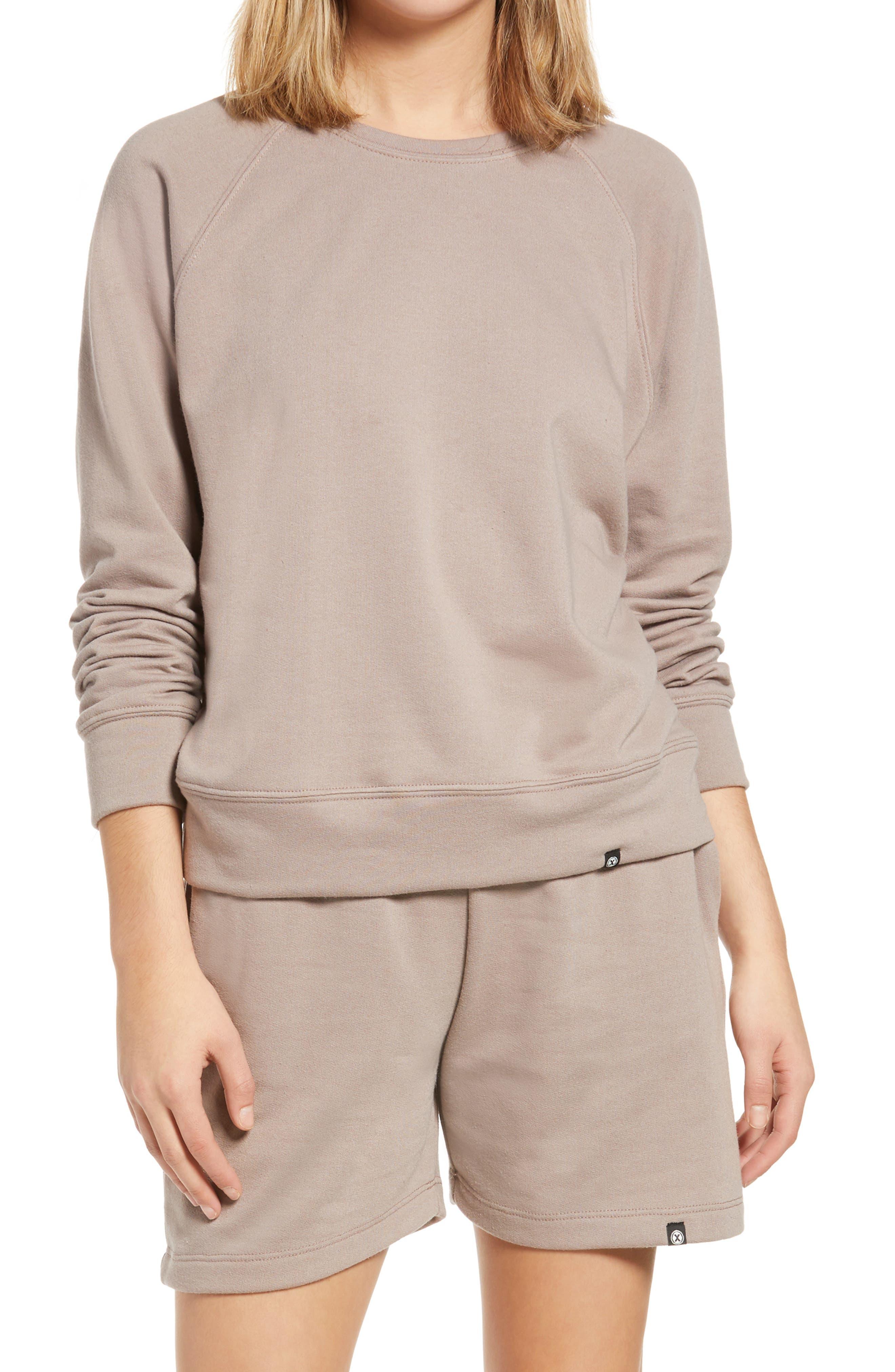 Cozy Raglan Sleeve Sweatshirt