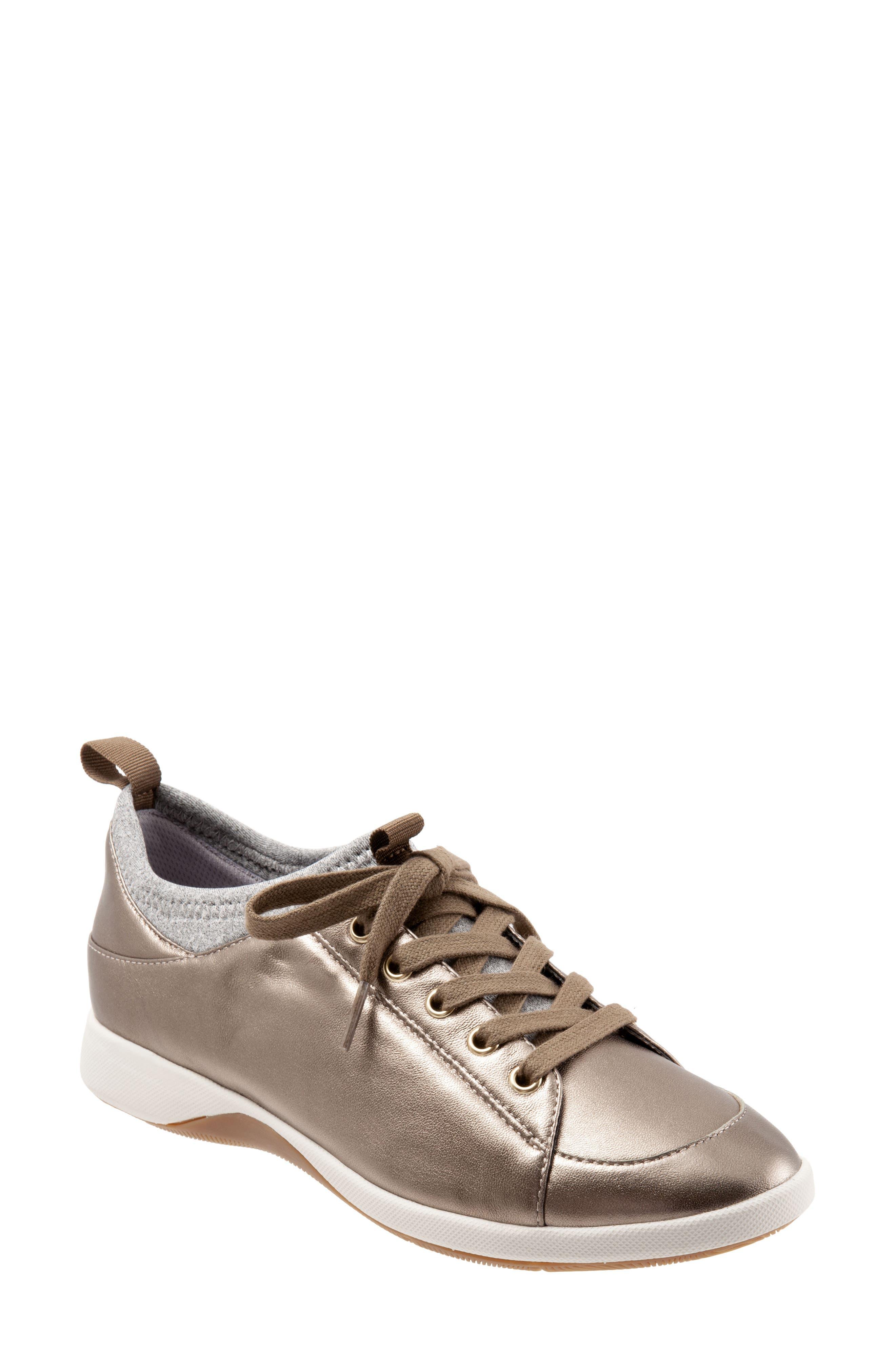 Softwalk Sava Haven Sneaker, W - Metallic