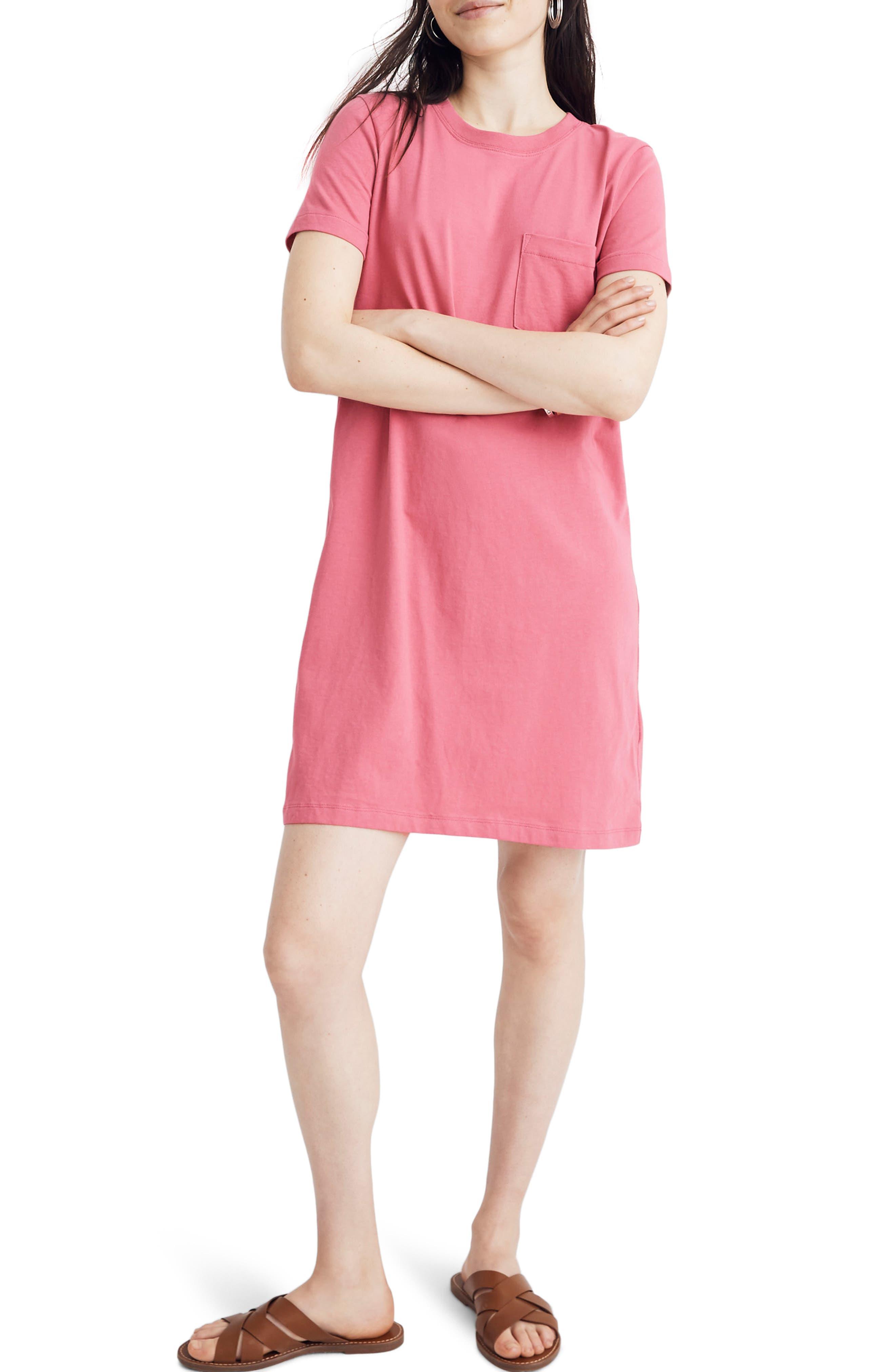 Madewell Tee Dress, Purple