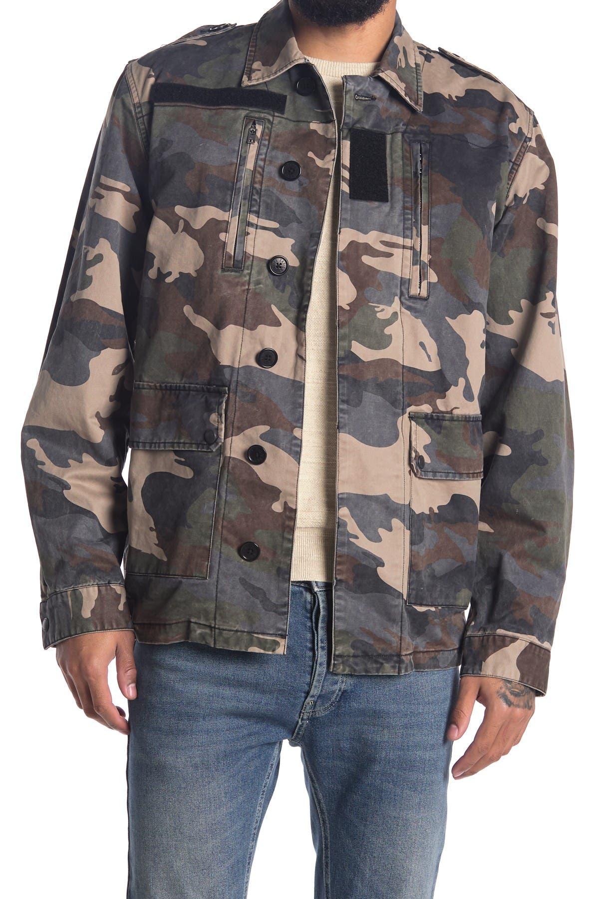Image of Zadig & Voltaire Kido Camo Print Jacket